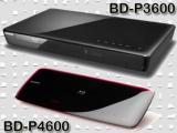 Samsung BD-P4600. Dunne blu-ray speler aan de muur