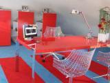 Kille werkkamer wordt trendy loungekantoor