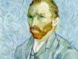 Een handgeschilderde Van Gogh aan de muur
