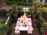 Balkon in brocante zomersfeer
