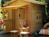 Een eigen speeltuin in de tuin