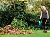 Een lichte bladblazer voor een bladvrije tuin