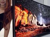 Samsung buigende televisie