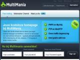 Gratis webhosting bij MultiMania