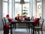 Tafelstijlen voor de kersttafel