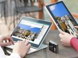 Tablet met uitschuifbaar toetsenbord