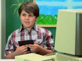 Hoe reageren kinderen op een oude computer?