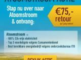 Direct 75 euro terug op je stroomrekening