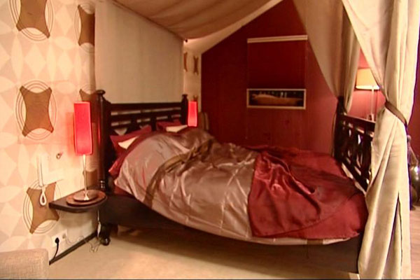 Een slaapkamer in Afrikaanse stijl - FANtv.nl