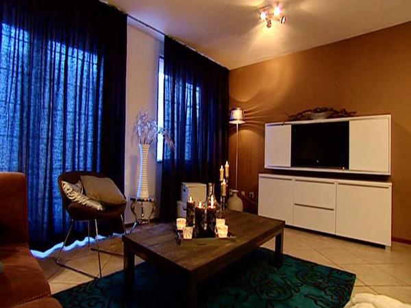 Warme Gezellige Woonkamer : Warme en landelijke inrichting voor de woonkamer gecombineerd met
