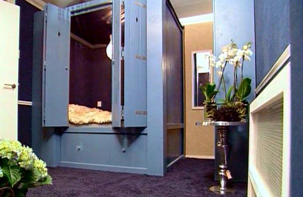slaapkamer in engelse stijl