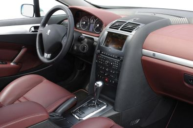 Peugeot 407 coup for Interieur 407 coupe