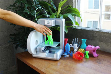 3d printer in actie