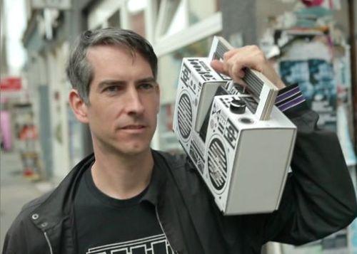 Mobiele Boombox Speaker Van Karton