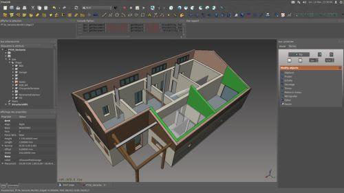 Freecad gratis cad software for Badkamer ontwerp programma downloaden
