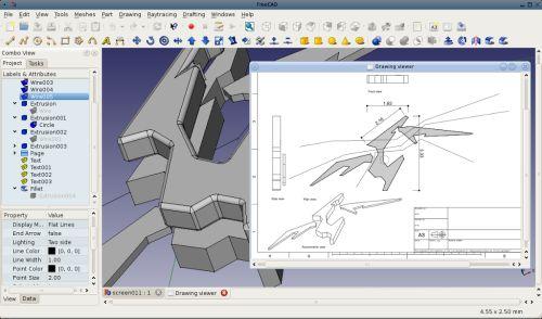 Freecad gratis cad software for Keuken ontwerp programma downloaden
