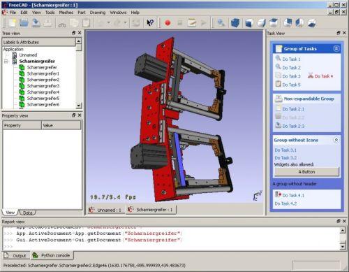 Tassen Ontwerpen Programma : Freecad gratis cad software fantv