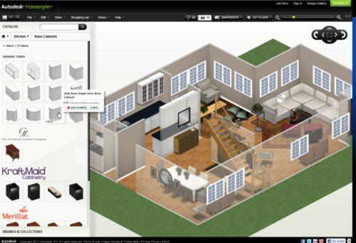 Woonkamer Inrichten 3d Programma : Autodesk homestyler gratis ...