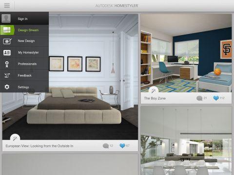 Autodesk Homestyler Gratis Binnenhuisarchitect Software