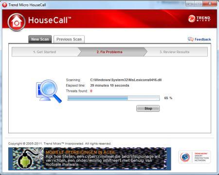 Gratis online virusscanner