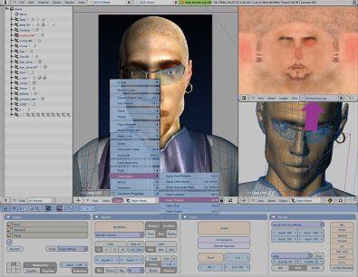 Blender 3d afbeeldingen en animaties maken for Computer tekenen programma