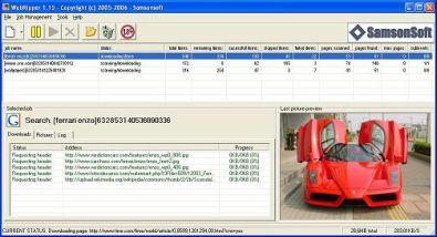 Webripper snel bestanden binnenhalen for Badkamer ontwerp programma downloaden