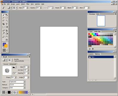 Tekenprogramma ArtWeaver - FANtv.nl