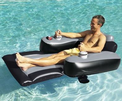 Motorized pool lounger for Motorized lounge chair pool float