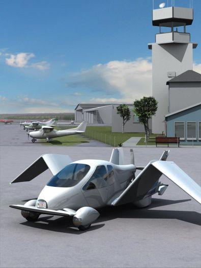 In 2009 moet de vliegende auto op de markt komen. Er wordt voorlopig ...