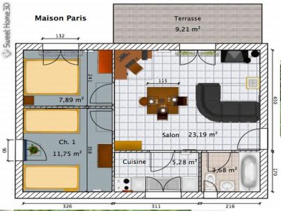 Inrichten van het interieur van je huis for Woning inrichten 3d
