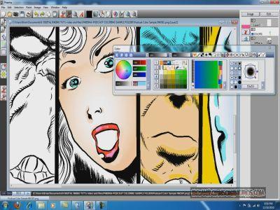 Phiera tekenen in japanse stijl for 3d tekenprogramma