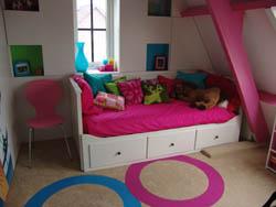 Van kinderkamer naar tienerkamer - Schilderen voor tiener meisje kamer ...