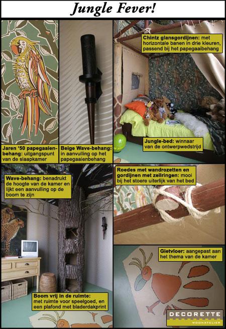 Een jungle slaapkamer - FANtv.nl