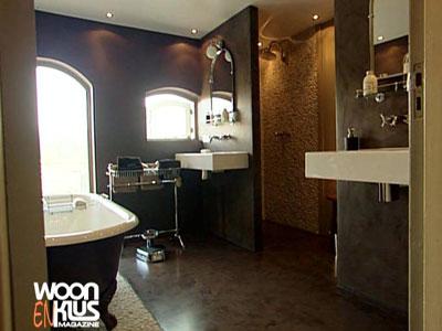 Muurtje in badkamer maken sydati muur badkamer afwerken laatste design een mediterrane - Badkamer in m ...