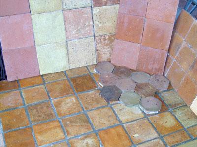 Terracotta plavuizen