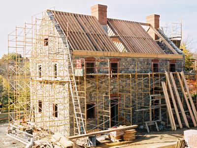 Woningbouwplannen mislukken - Construccion casas de piedra ...