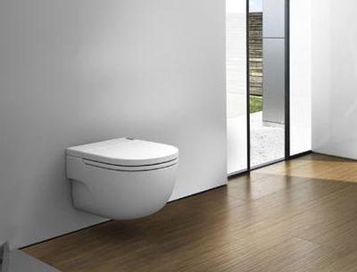 Zwevend Toilet Gamma : Toilet vult langzaam