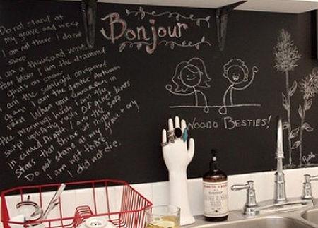 Schoolbordverf De Keuken : Creatief met schoolbordverf fantv