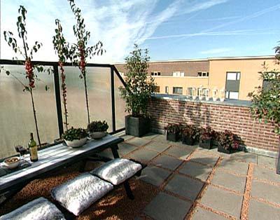 Een modern dakterras maken - Tuin marokkaans terras ...