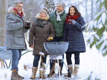 Barbecuen in de winter