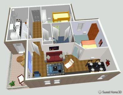 Gratis software om je huis in te richten for Keuken ontwerp programma downloaden