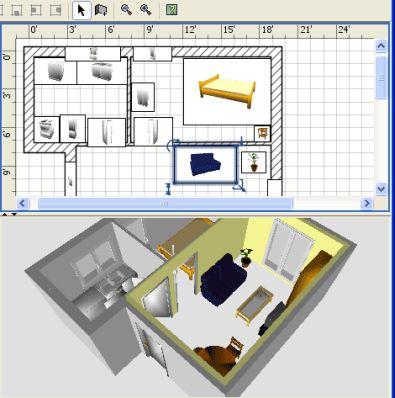 Gratis software om je huis in te richten for Woning inrichten 3d