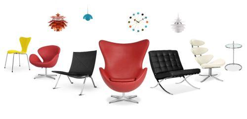 Replica 39 s van retro design meubelen for Replica design meubelen